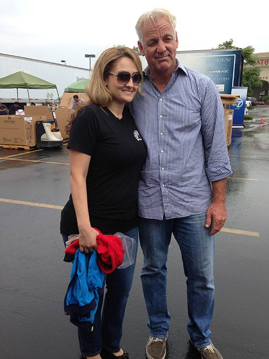 "<div class=""meta ""><span class=""caption-text "">ABC7 Weathercaster Garth Kemp stands in front of PrimeCare and Aetna employees, who donated generously to the Feed SoCal food drive in Ontario on Friday, July 26, 2013. (KABC Photo)</span></div>"