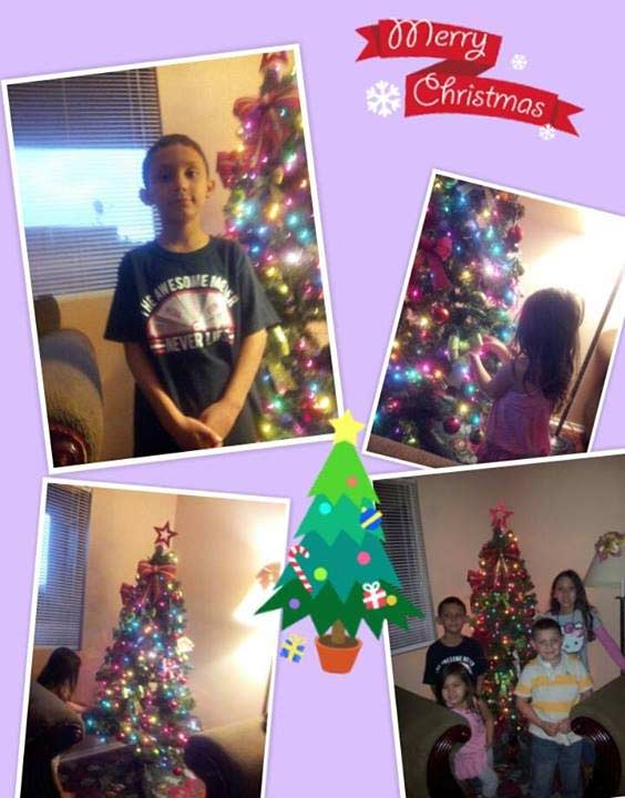 ABC7 viewer Darlene Garcia shared this family snapshot. Use #ABC7HomeForTheHolidays on Facebook, Twitter and Instagram to share your holiday photos with ABC7. We&#39;ll feature some of the best on our newscasts and here on abc7.com! <span class=meta>(ABC7 viewer Darlene Garcia)</span>