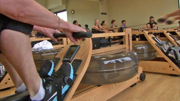 Indo Row workout mimics rowing on water