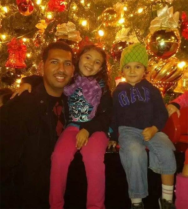 ABC7 viewer Martin Contreras shared this snapshot. Use #ABC7HomeForTheHolidays on Facebook, Twitter and Instagram to share your holiday photos with ABC7. We&#39;ll feature some of the best on our newscasts and here on abc7.com! <span class=meta>(ABC7 viewer Martin Contreras)</span>