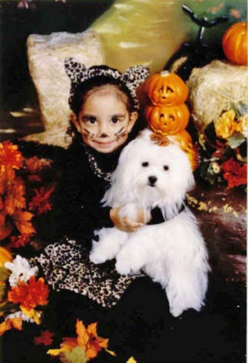 ABC7 viewer Teresa Macias from East Los Angeles sent in this photo of Sugarpie posing for a Halloween picture.  Celebrate National Puppy Day by sending photos of your pup to ABC7. <span class=meta>(KABC Photo&#47;Teresa Macias)</span>