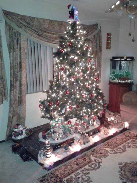 ABC7 viewer Marc Figueroa Colunga sent in this snapshot of a decked out Christmas tree. Use #ABC7HomeForTheHolidays on Facebook, Twitter and Instagram to share your holiday photos with ABC7. We&#39;ll feature some of the best on our newscasts and here on abc7.com! <span class=meta>(ABC7 viewer Marc Figueroa Colunga)</span>