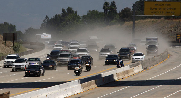 Photos: Carmageddon - 405 Closure Photos from Los Angeles
