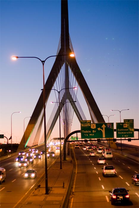 Boston, Mass. ranked No. 10 on a list of cities with the worst traffic congestion. The study was done by traffic monitoring group INRIX. <span class=meta>(flickr&#47;Eric Kilby)</span>
