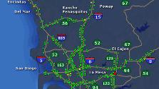 Abc7 Traffic Map.San Diego Traffic Southern California Traffic Abc7 Com