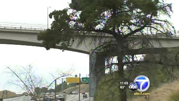 Crews will be tearing out the Mulholland Drive overpass, which is the third bridge to be demolished and reconstructed to accommodate the widening of the 405.