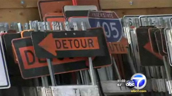 The 53-hour closure of the freeway is planned out like a strategic military attack, and the construction schedule is broken down into 15 minute blocks so officials will know if the contractor will make the 5 a.m. Monday deadline.