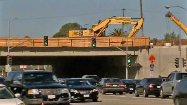 I-405 'Ramp Jam' sees first Monday commuters