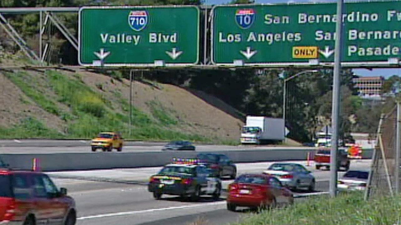 The 710 Freeway is shown in this undated file photo.