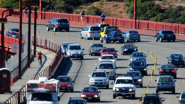 San Francisco, Calif. ranked No. 3 on a list of cities with the worst traffi