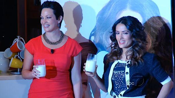 Salma Hayek is lending her celebrity to help everyone, especially Latinos, realize that eating a healthy breakfast is a big part of staying healthy. She is behind the new 'Got Milk' campaign.