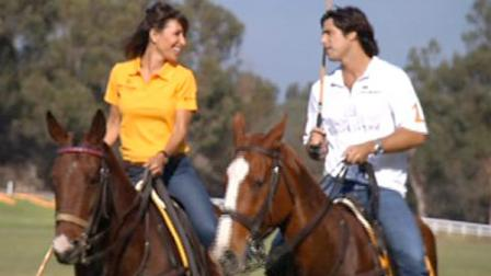 Polo star Nacho Figueras speaks with Vista L.A. co-host Jovana Lara in an episode of Vista L.A. that aired Sunday, Feb. 3, 2013.