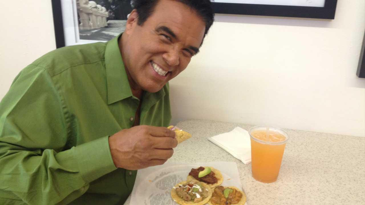 Danny Romero visits Guisados in Boyle Heights on an episode of Eye on L.A. that aired on Sunday, Sept. 22, 2013.
