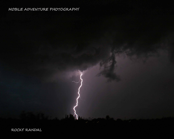 ABC7 viewer Rocky Randal sent in this photo of lightning seen over Victorville on Tuesday, Oct. 19, 2010. When You Witness breaking news, or even something extraordinary, send pictures and video to video@myabc7.com, or send them to @abc7 on Twitter <span class=meta>(ABC7 viewer Rocky Randal)</span>
