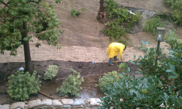 An ABC7 viewer sent in this photo of sliding hills after rain storms on Monday, Dec. 20, 2010.  When You Witness breaking news, or even something extraordinary, send pictures and video to video@myabc7.com, or send them to @abc7 on Twitter <span class=meta>(ABC7 viewer)</span>