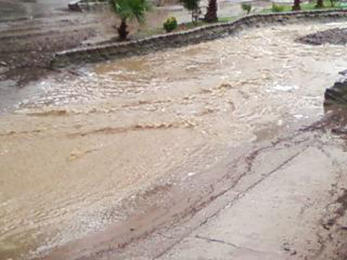 ABC7 viewer Faby Jacome sent in this photo of a creek in Silverado on Tuesday, Dec. 21, 2010.   When You Witness breaking news, or even something extraordinary, send pictures and video to video@myabc7.com, or send them to @abc7 on Twitter <span class=meta>(ABC7 viewer Faby Jacome)</span>