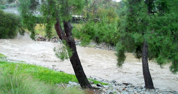 An ABC7 viewer sent in this photo of Aliso Creek on Wednesday, Dec. 22, 2010.   When You Witness breaking news, or even something extraordinary, send pictures and video to video@myabc7.com, or send them to @abc7 on Twitter <span class=meta>(ABC7 viewer)</span>