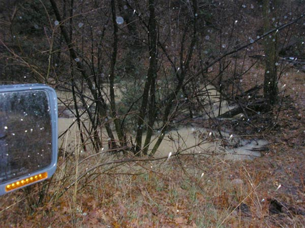 ABC7 viewer Timothy Carroll sent in this photo of a flooding pond in Angelus Oaks on Wednesday, Dec. 22, 2010.   When You Witness breaking news, or even something extraordinary, send pictures and video to video@myabc7.com, or send them to @abc7 on Twitter <span class=meta>(ABC7 viewer Timothy Carroll)</span>
