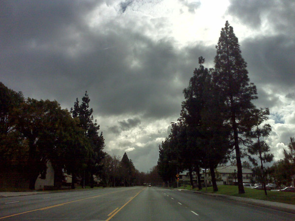 An ABC7 viewer sent in this photo of storm clouds over Chino, Calif., on Wednesday, Dec. 22, 2010.   When You Witness breaking news, or even something extraordinary, send pictures and video to video@myabc7.com, or send them to @abc7 on Twitter <span class=meta>(ABC7 viewer)</span>