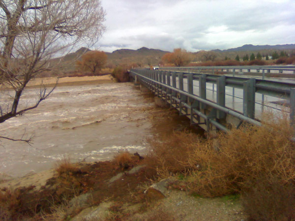 An ABC7 viewer sent in this photo from Helendale, Calif., on Wednesday, Dec. 22, 2010.  When You Witness breaking news, or even something extraordinary, send pictures and video to video@myabc7.com, or send them to @abc7 on Twitter <span class=meta>(ABC7 viewer)</span>