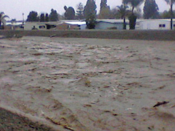 ABC7 viewer Sharon Thorpe sent in this photo of San Juan Creek in San Juan Capistrano on Wednesday, Dec. 22, 2010.   When You Witness breaking news, or even something extraordinary, send pictures and video to video@myabc7.com, or send them to @abc7 on Twitter <span class=meta>(ABC7 viewer Sharon Thorpe of Dana Point)</span>