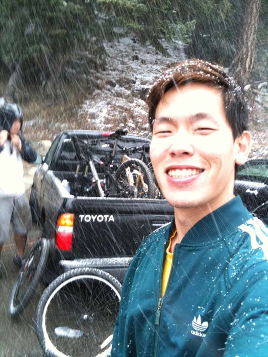 ABC7 viewer Danny Huang sent in this photo of snow falling on Mt. Wilson on Monday Jan. 3, 2011.  When You Witness breaking news, or even something extraordinary, send pictures and video to video@myabc7.com, or send them to @abc7 on Twitter <span class=meta>(ABC7 viewer Danny Huang)</span>