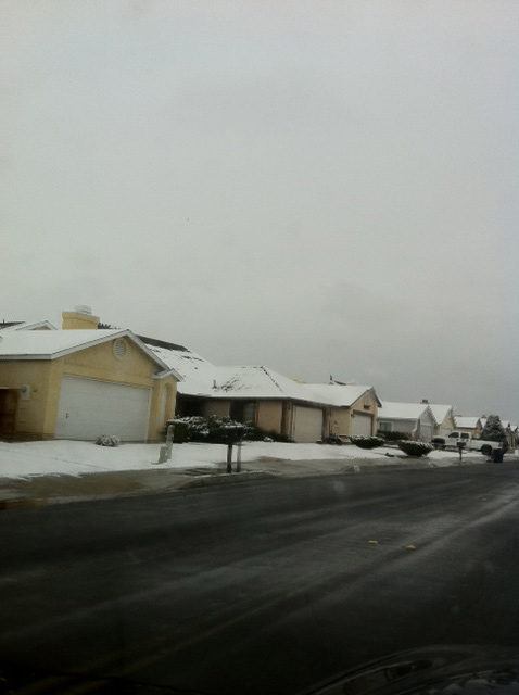 "<div class=""meta ""><span class=""caption-text "">ABC7 viewer Merri Hubbard of Victorville sent in this photo of snow in her neighborhood on Monday Jan. 3, 2011.  When You Witness breaking news, or even something extraordinary, send pictures and video to video@myabc7.com, or send them to @abc7 on Twitter (ABC7 viewer Merri Hubbard)</span></div>"