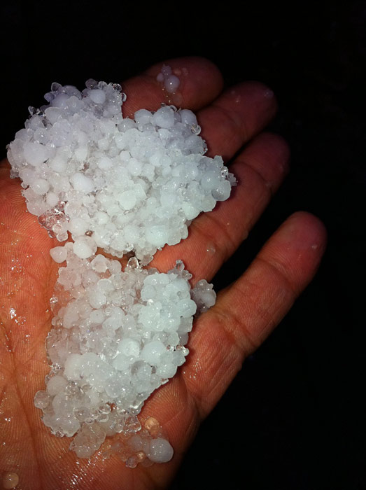 "<div class=""meta image-caption""><div class=""origin-logo origin-image ""><span></span></div><span class=""caption-text"">ABC7 viewer Joseph Rivas sent in this photo of hail in South Los Angeles on Saturday, Feb. 19, 2011.  When You Witness breaking news, or even something extraordinary, send pictures and video to video@myabc7.com, or send them to @abc7 on Twitter (KABC photo/Joseph Rivas)</span></div>"