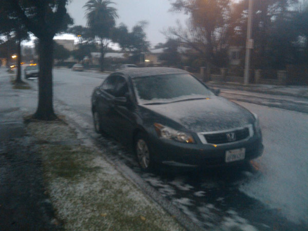 ABC7 viewer Patricia Beilke sent in this photo...