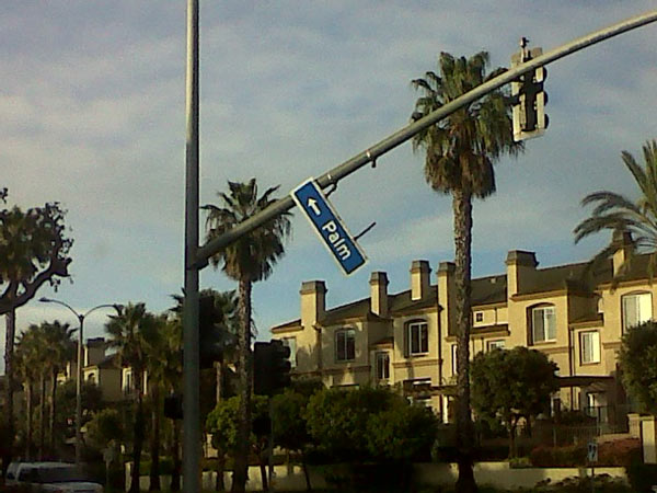 ABC7 viewer Brittany Peterson sent in this photo of storm damage seen in Huntington Beach on Monday, March 21, 2011. &#160;When you witness breaking news happen, send your photos to video@myabc7.com, or send them to @abc7 on Twitter <span class=meta>(ABC7 viewer Brittany Peterson)</span>