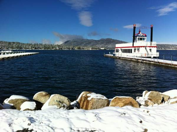 ABC7 viewer Joe Gorman sent in this photo of snow in Big Bear Lake, Calif. on Sunday Nov. 6, 2011.  When You Witness breaking news, or even something extraordinary, send pictures and video to video@myabc7.com, or send them to @abc7 on Twitter <span class=meta>(KABC photo&#47;  Joe Gorman)</span>