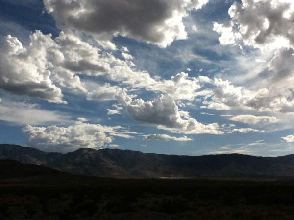 ABC7 viewer Jacob Sobrito sent in this photo of clouds over Lucerene Valley, Calif. on Sunday Nov. 6, 2011.  When You Witness breaking news, or even something extraordinary, send pictures and video to video@myabc7.com, or send them to @abc7 on Twitter <span class=meta>(KABC photo&#47; Jacob Sobrito)</span>