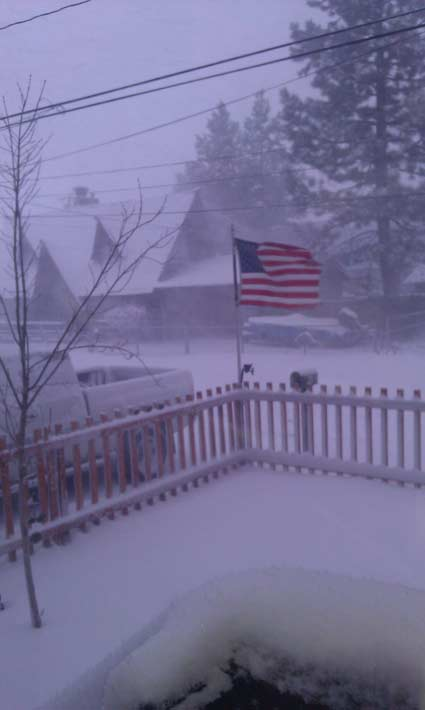 ABC7 viewer Jamie Ricketts of Big Bear City sent...