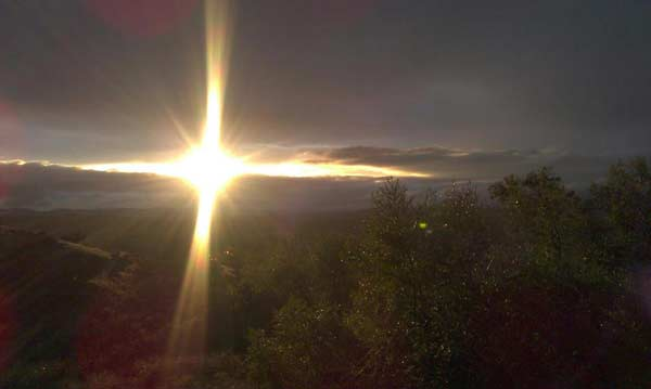 "<div class=""meta ""><span class=""caption-text "">ABC7 viewer Bruce Williams posted this photo on the ABC7 Facebook page of the sun breaking through the clouds in Riverside as a storm passed over Southern California on Sunday March, 25, 2012.   When You Witness breaking news, or even something extraordinary, send pictures and video to video@myabc7.com, or send them to @abc7 on Twitter or our ABC7 Facebook page.  (ABC7 viewer Bruce Williams)</span></div>"