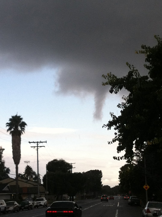 ABC7 viewer Eric Moore sent us this photo of a...