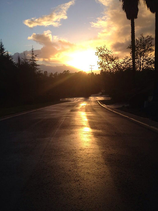 ABC7 viewer @Juliann_Montes sent in this photo of the sun shining after the storm in Camarillo via Twitter on Friday, Feb. 28, 2014. When You Witness breaking news, or even something extraordinary, send pictures and video to video@abc7.com, or post them to the ABC7 Facebook page or to @abc7 on Twitter  <span class=meta>(Juliann Montes)</span>