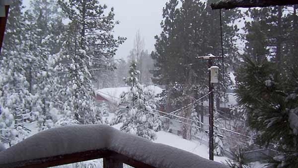 Winter weather photos from Big Bear City