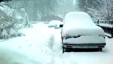 ABC7 viewer Bobby Gerard sent in this photo of snow in Big Bear Lake after a storm passed over Southern California on Sunday March, 18, 2012.