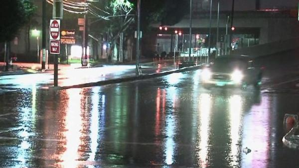 SoCal storm brings light rain, cooler temps