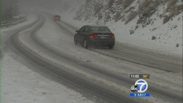 Storm brings heavy snowfall to Big Bear