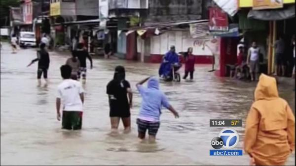 Philippines typhoon: Fundraiser for victims