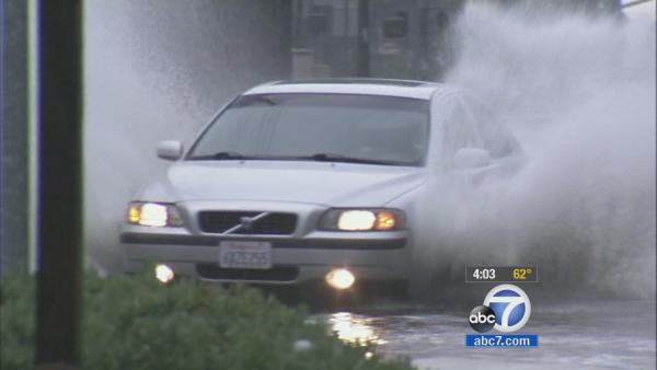 Black Friday rain moves through Southland