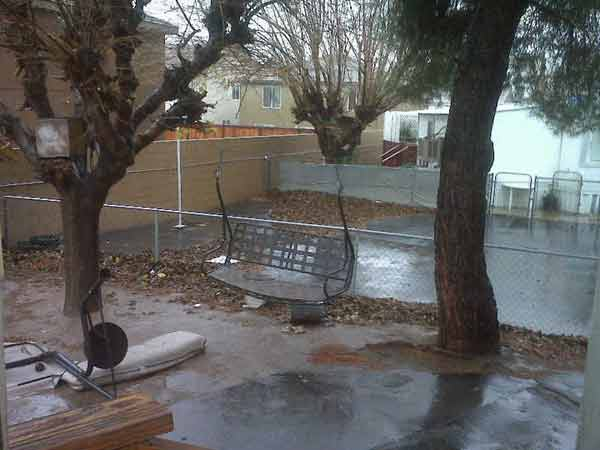 ABC7 viewer April Nunez sent in this photo of Hesperia, Calif., on Tuesday, Dec. 21, 2010. When You Witness breaking news, or even something extraordinary, send pictures and video to video@myabc7.com, or send them to @abc7 on Twitter <span class=meta>(ABC7 viewer April Nunez)</span>