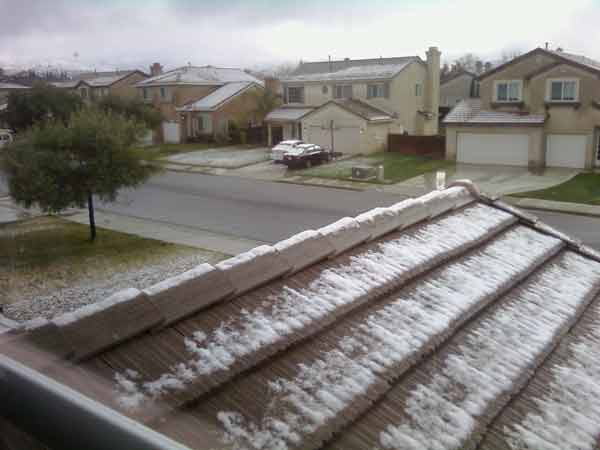 ABC7 viewer Robert Brooks sent in this photo of...
