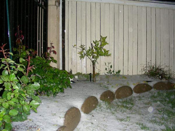 "<div class=""meta image-caption""><div class=""origin-logo origin-image ""><span></span></div><span class=""caption-text"">ABC7 viewer Christina Mahoney sent in this photo of hail in Mission Viejo, Calif. on Friday, April 8, 2011.  When You Witness breaking news, or even something extraordinary, send pictures and video to video@myabc7.com, or send them to @abc7 on Twitter  (KABC photo/ Christina Mahoney)</span></div>"