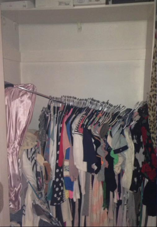 ABC7 viewer Joy Scruton sent in this photo of her falling closet rod on Monday, March 17, 2014. When You Witness breaking news, or even something extraordinary, send pictures and video to video@abc7.com, or post them to the ABC7 Facebook page or to @abc7 on Twitter. <span class=meta>(Kellie Stanfield)</span>
