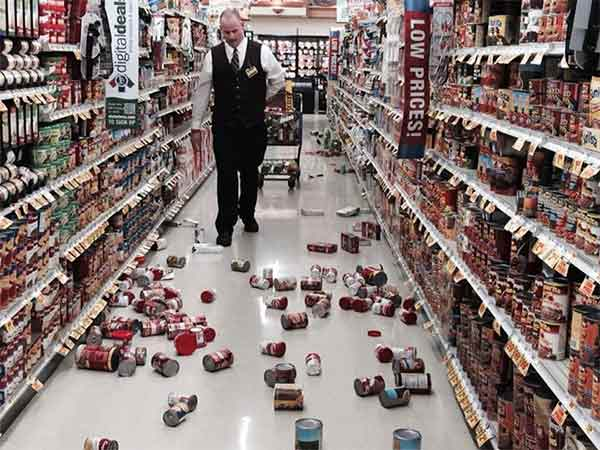 "<div class=""meta image-caption""><div class=""origin-logo origin-image ""><span></span></div><span class=""caption-text"">ABC7 viewer Melissa Fazli shared this photo on our Facebook page of a big mess at Stater Brothers in Yorba Linda following a 5.1 earthquake near La Habra on Friday, March 28, 2014. When You Witness breaking news, or even something extraordinary, send pictures and video to video@abc7.com, or post them to the ABC7 Facebook page or to @abc7 on Twitter. (Melissa Fazli)</span></div>"