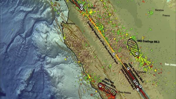 Study: CA fault can rupture, cause mega-quake