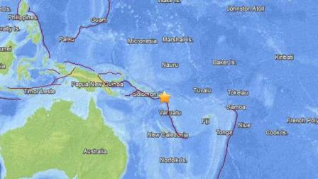 A tsunami warning was issued after a powerful 8.0-magnitude earthquake struck near the South Pacific islands on Tuesday, Feb. 5, 2013.