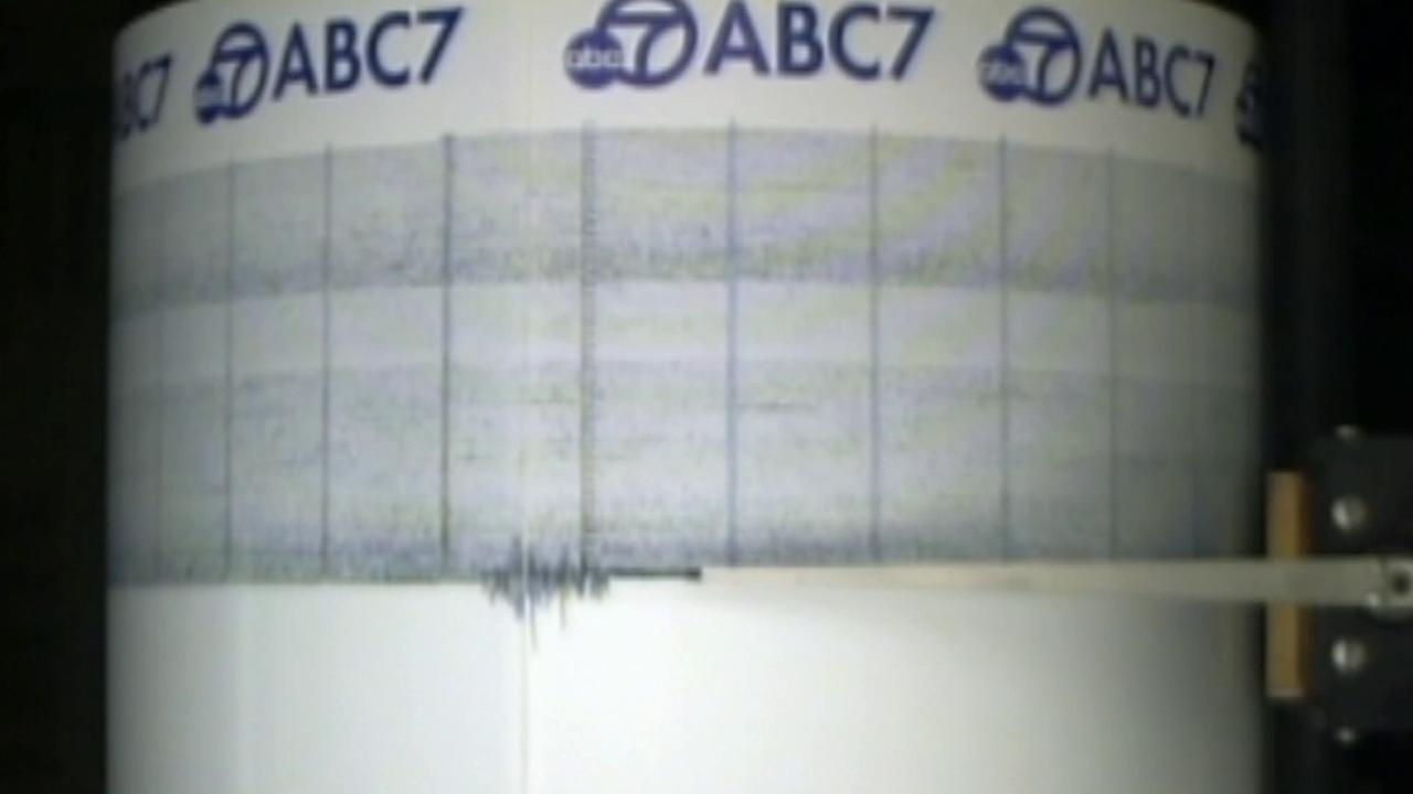 The ABC7 Quake Cam captures shaking from a 7.3-magnitude earthquake that struck off the coast of Honshu, Japan.
